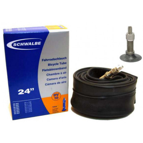 "Schlauch Schwalbe DV10 24"" / 40/62-507 - 40mm ventil"