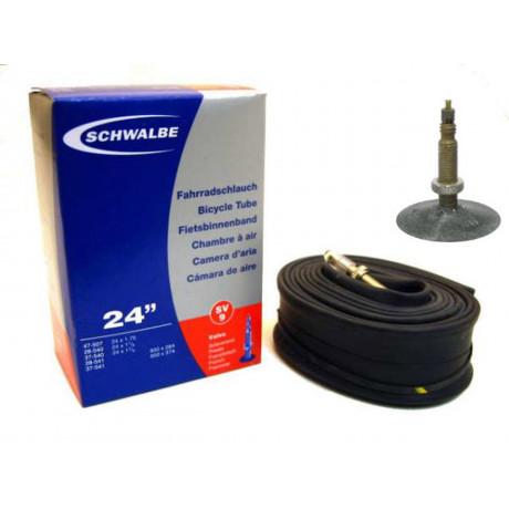 "Schlauch Schwalbe SV9 24"" / 28/47-507/541 - 40mm ventil"