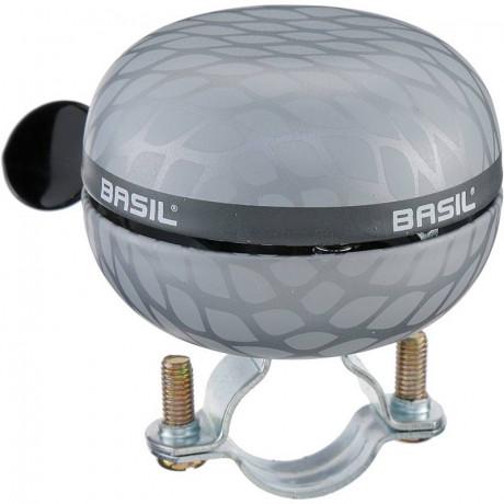 Fahrradklingel Basil Noir Big Bell 60 mm - Silber
