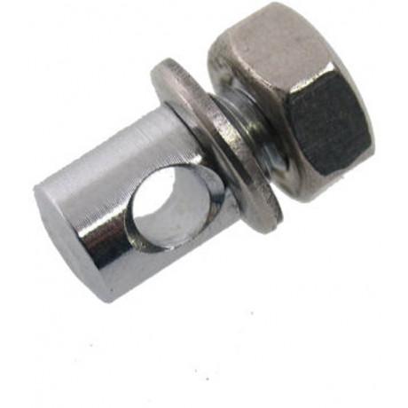 Bremspfeilschraube M6 x 8 - Chrom