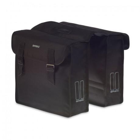 Doppelpacktasche Basil Mara 26 liter 33 x 11 x 30 cm - Schwarz