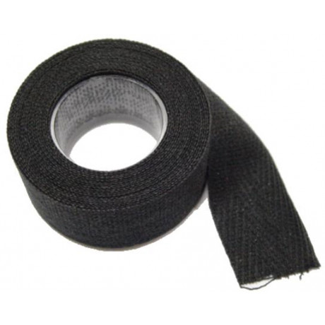 Lenkerband Stoff TRESSOSTAR Schwarz 2.5mtr * 20mm