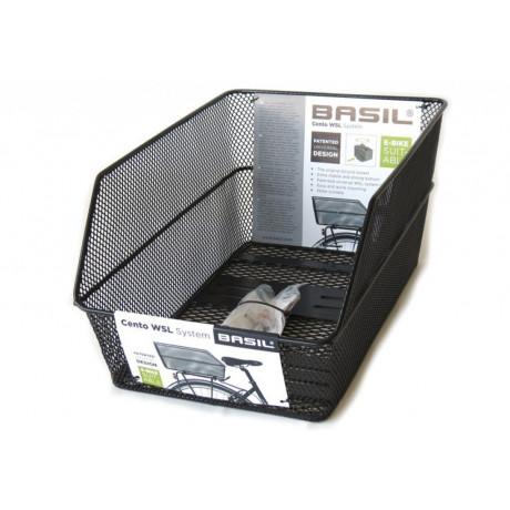 HR-Schultaschenkorb BASIL Cento WSL-system -  Schwarz